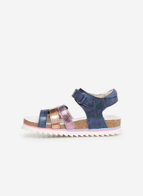 Sandales et nu-pieds Shoesme Steffi Bleu vue face