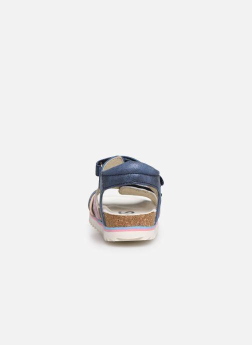Sandales et nu-pieds Shoesme Steffi Bleu vue droite