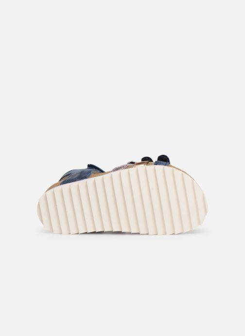 Sandales et nu-pieds Shoesme Steffi Bleu vue haut