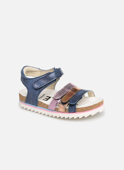Sandals Shoesme Steffi Blue detailed view/ Pair view