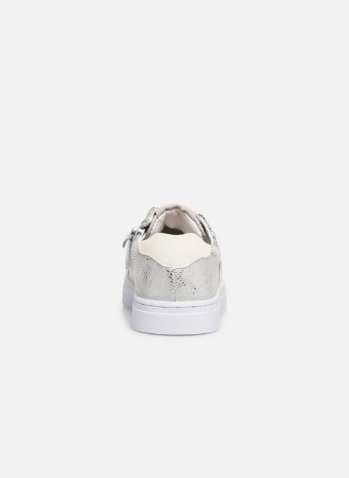 Trainers Shoesme Santia Silver view from the right