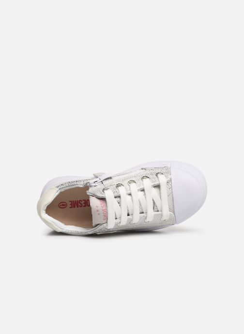 Trainers Shoesme Santia Silver view from the left