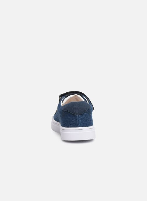 Trainers Shoesme Santiago Blue view from the right