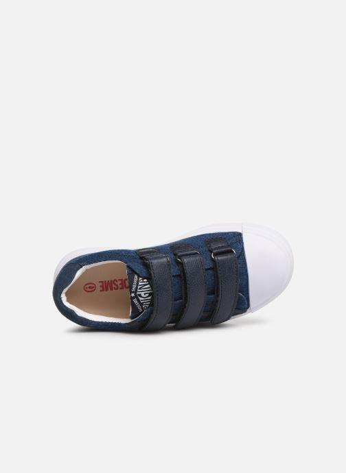 Sneakers Shoesme Santiago Azzurro immagine sinistra