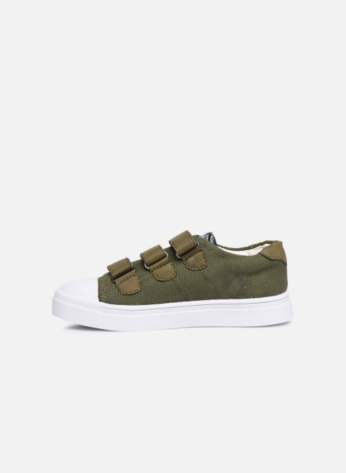 Trainers Shoesme Santiago Green front view