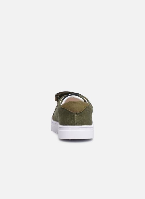 Trainers Shoesme Santiago Green view from the right