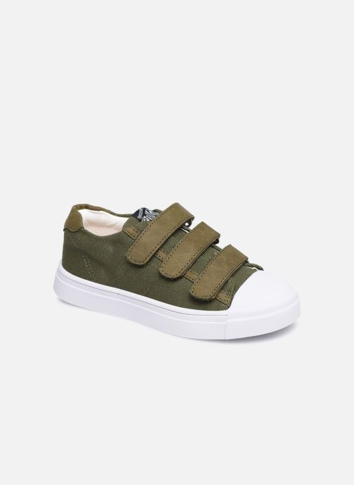 Trainers Shoesme Santiago Green detailed view/ Pair view