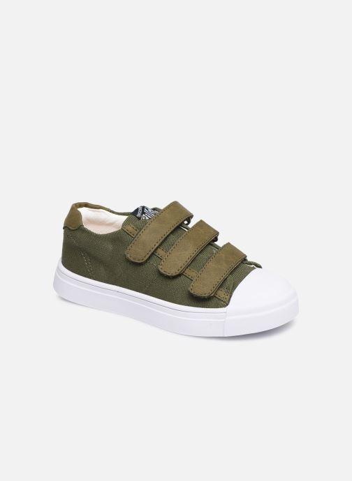 Baskets Shoesme Santiago Vert vue détail/paire