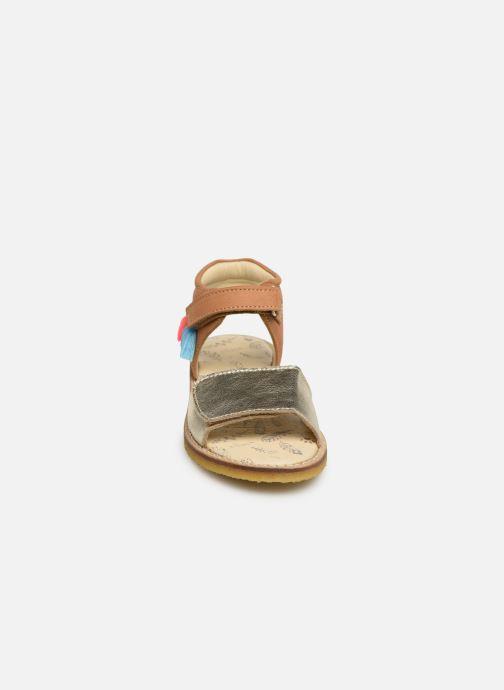 Sandales et nu-pieds Shoesme Sixtine Marron vue portées chaussures