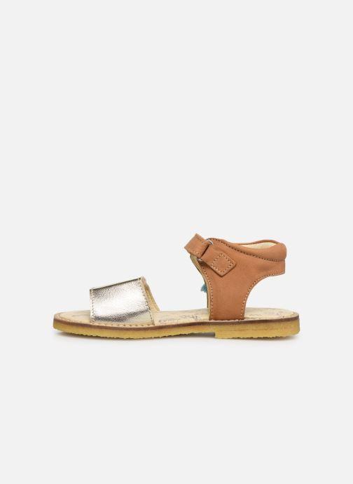 Sandales et nu-pieds Shoesme Sixtine Marron vue face