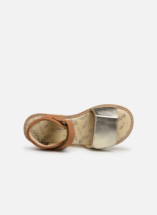 Sandales et nu-pieds Shoesme Sixtine Marron vue gauche