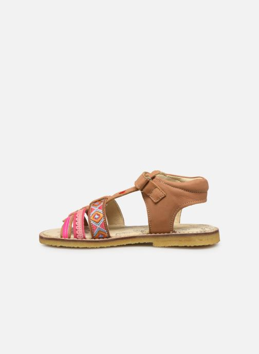Sandals Shoesme Solveig Brown front view