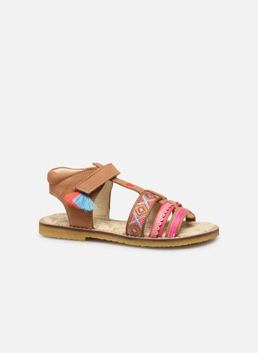 Sandals Shoesme Solveig Brown back view