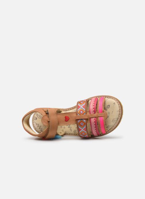 Sandales et nu-pieds Shoesme Solveig Marron vue gauche