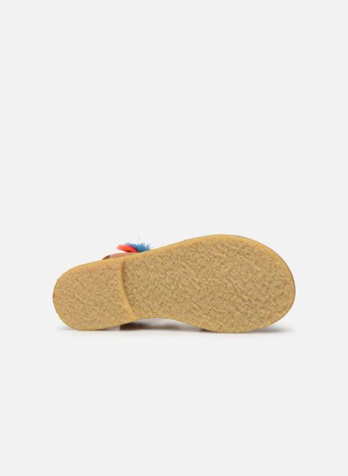 Sandales et nu-pieds Shoesme Solveig Marron vue haut