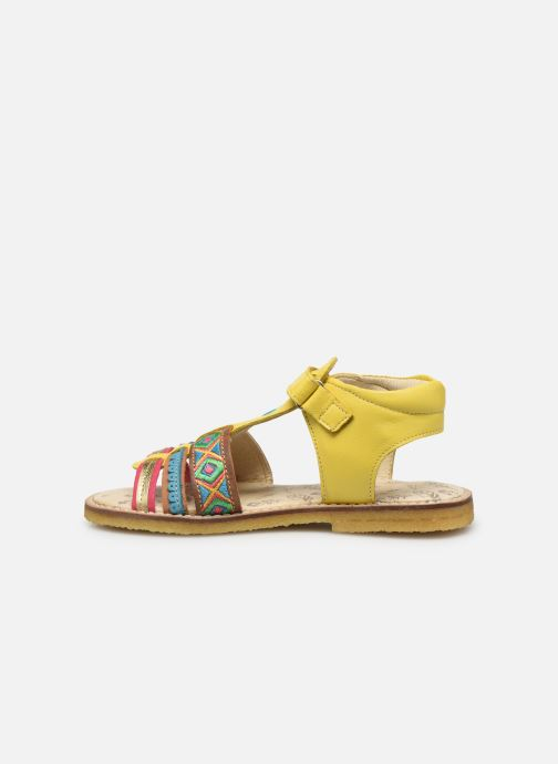 Sandals Shoesme Solveig Yellow front view