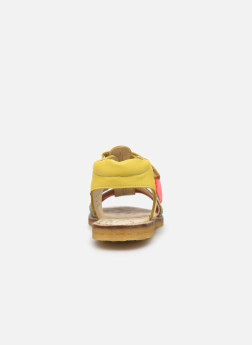 Sandals Shoesme Solveig Yellow view from the right