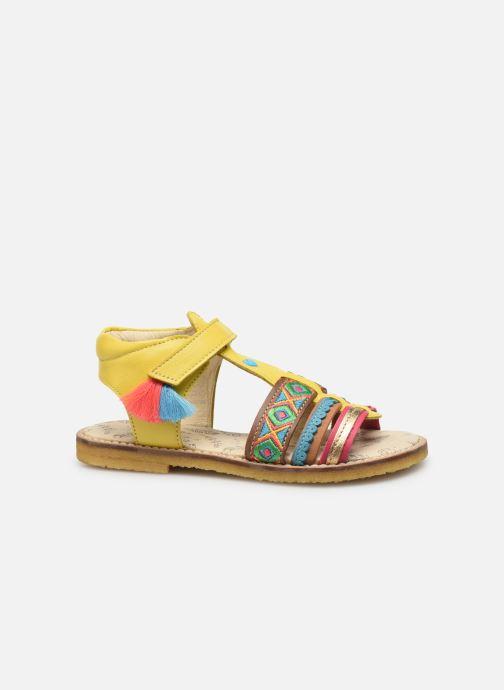Sandales et nu-pieds Shoesme Solveig Jaune vue derrière