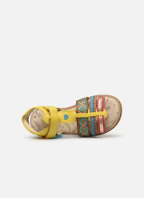 Sandalen Shoesme Solveig Geel links
