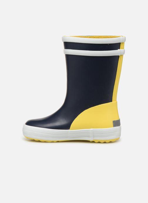 Støvler & gummistøvler Aigle Baby Flac Color Block Blå se forfra