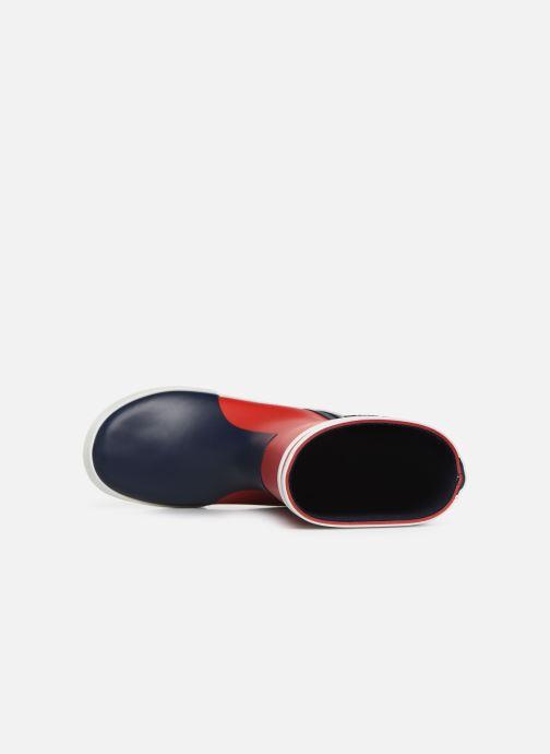 Støvler & gummistøvler Aigle Lolly Pop Color Block Rød se fra venstre