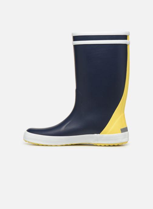 Støvler & gummistøvler Aigle Lolly Pop Color Block Blå se forfra