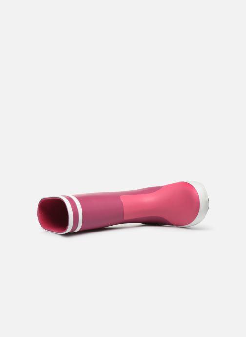 Stivali Aigle Lolly Pop Color Block Rosa immagine sinistra