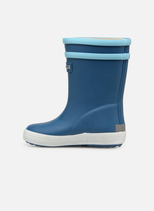 Boots & wellies Aigle Baby Flac Fun Blue front view
