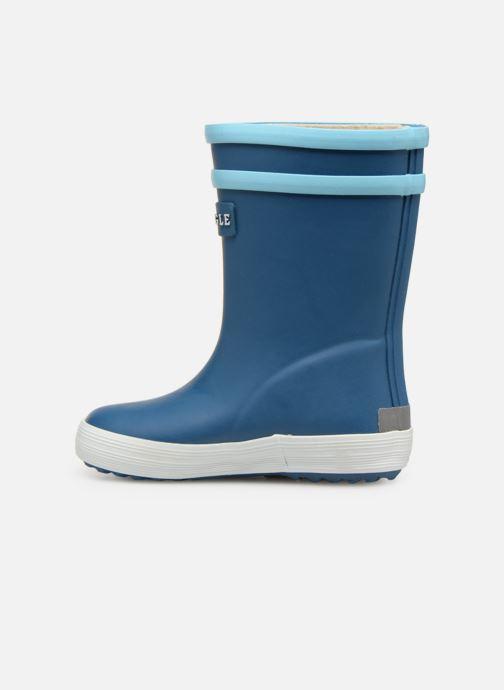Støvler & gummistøvler Aigle Baby Flac Fun Blå se forfra