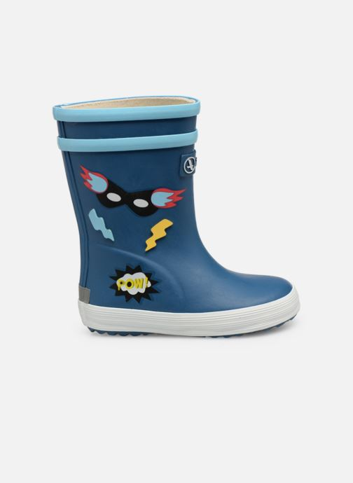 Boots & wellies Aigle Baby Flac Fun Blue back view