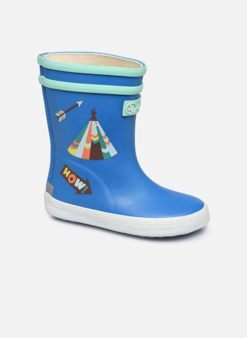 Stiefel Aigle Baby Flac Fun blau detaillierte ansicht/modell