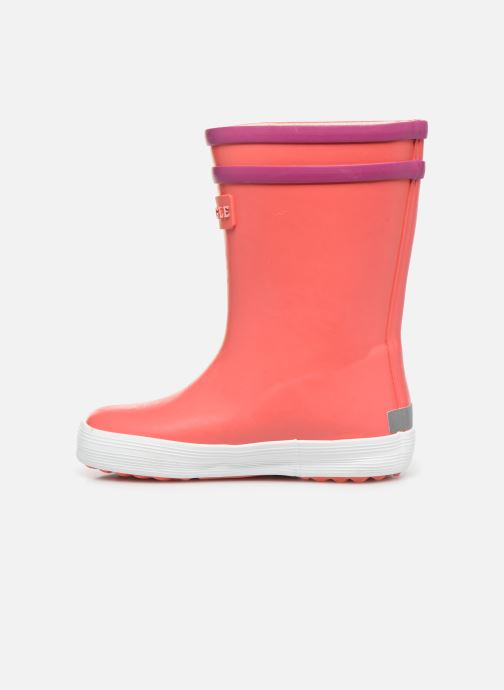 Bottes Aigle Baby Flac Fun Orange vue face