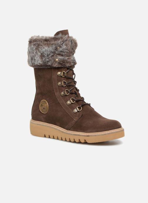 Bottines et boots Pataugas Myna Marron vue détail/paire