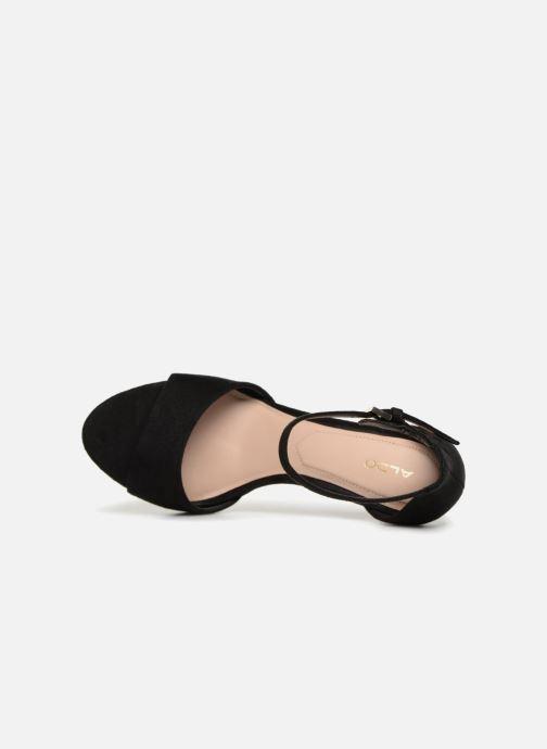 Sandales et nu-pieds Aldo WORSTER Noir vue gauche