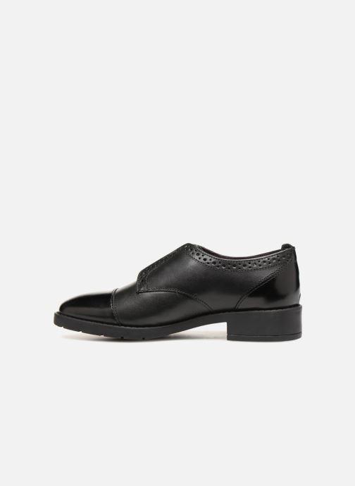 Chaussures à lacets Gioseppo Riba Noir vue face