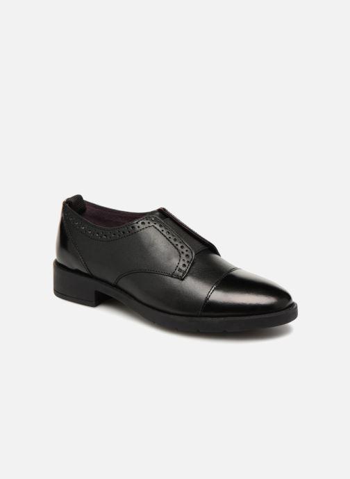 Chaussures à lacets Gioseppo Riba Noir vue détail/paire