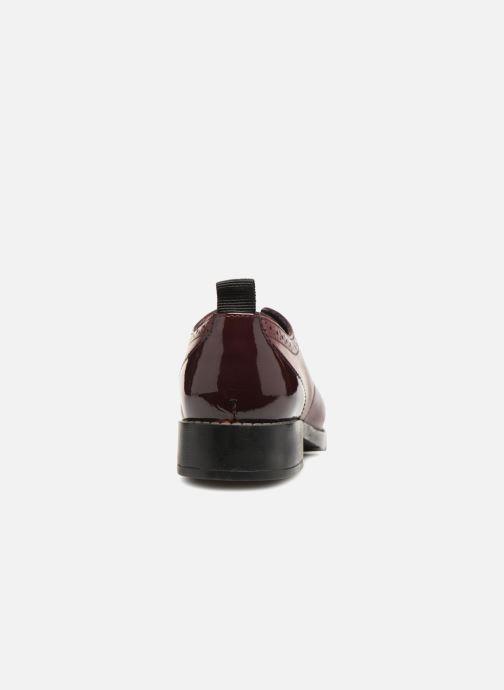 Chaussures à lacets Gioseppo Riba Bordeaux vue droite