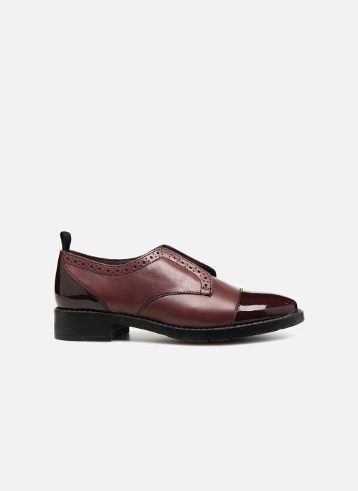 Zapatos con cordones Gioseppo Riba Vino vistra trasera