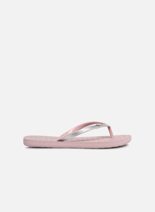 Slippers Roxy Rd Viva Glitter II Roze achterkant