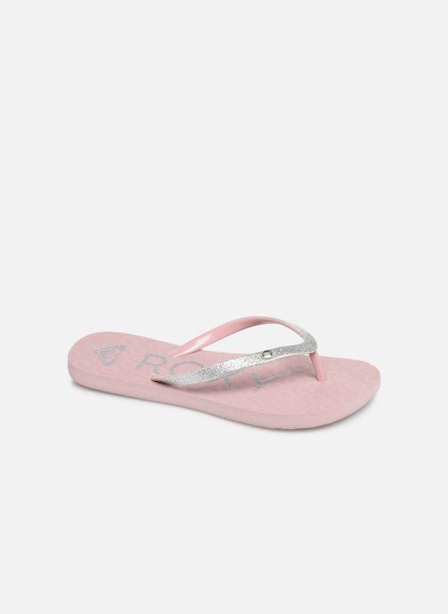 Slippers Roxy Rd Viva Glitter II Roze detail
