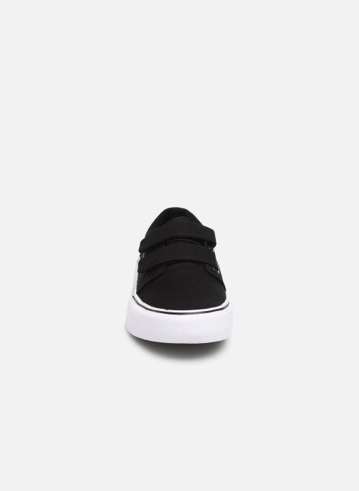 Baskets DC Shoes Trase V Kids Noir vue portées chaussures