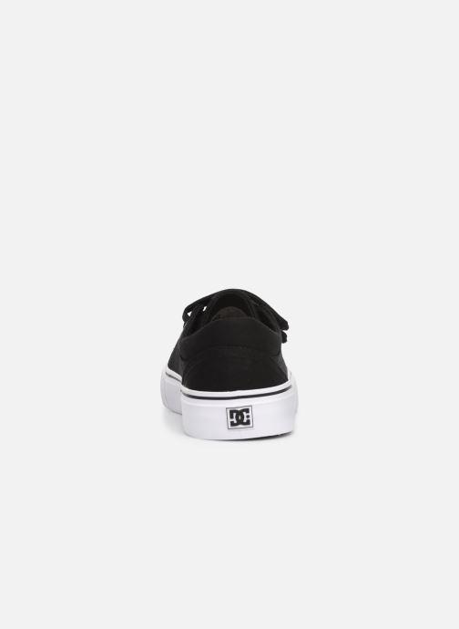 Baskets DC Shoes Trase V Kids Noir vue droite
