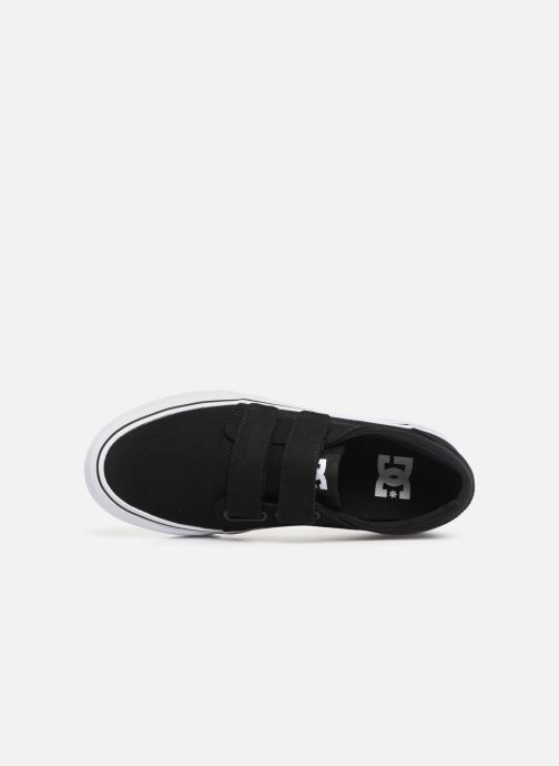Sneakers DC Shoes Trase V Kids Nero immagine sinistra