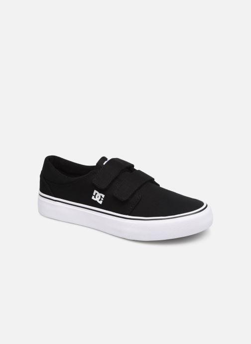 Deportivas DC Shoes Trase V Kids Negro vista de detalle / par