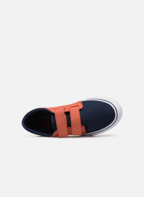 Sneakers DC Shoes Trase V Kids Azzurro immagine sinistra
