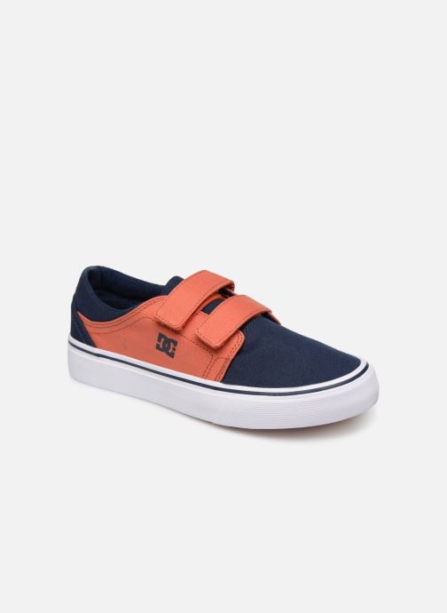 Baskets DC Shoes Trase V Kids Bleu vue détail/paire