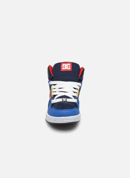 Baskets DC Shoes Pure High-Top SE Bleu vue portées chaussures
