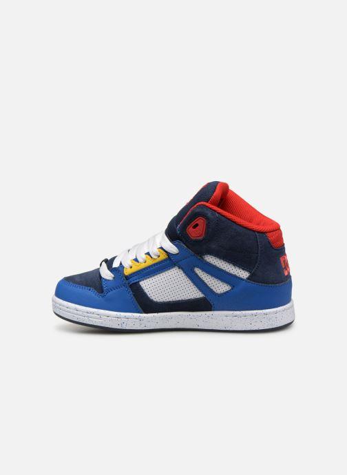 Baskets DC Shoes Pure High-Top SE Bleu vue face