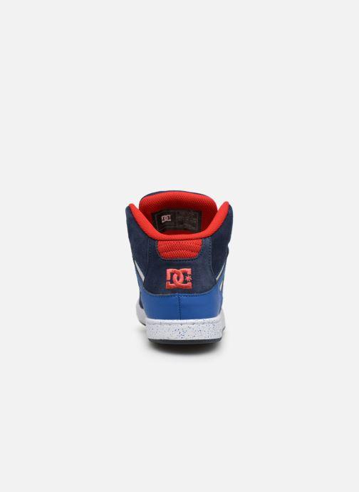 Baskets DC Shoes Pure High-Top SE Bleu vue droite