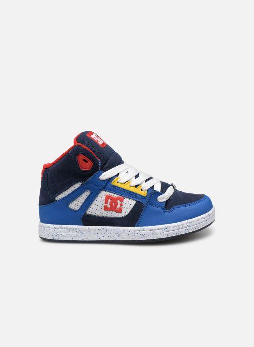 Baskets DC Shoes Pure High-Top SE Bleu vue derrière